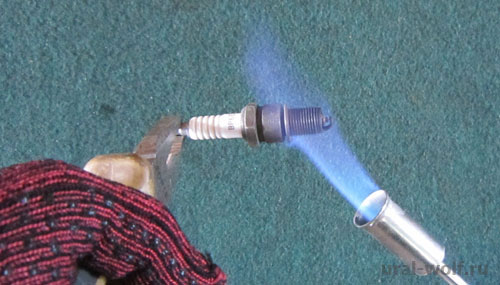 Газовая горелка фото