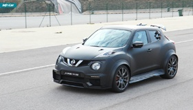 Nissan Juke-R - самый дерзкий кроссовер