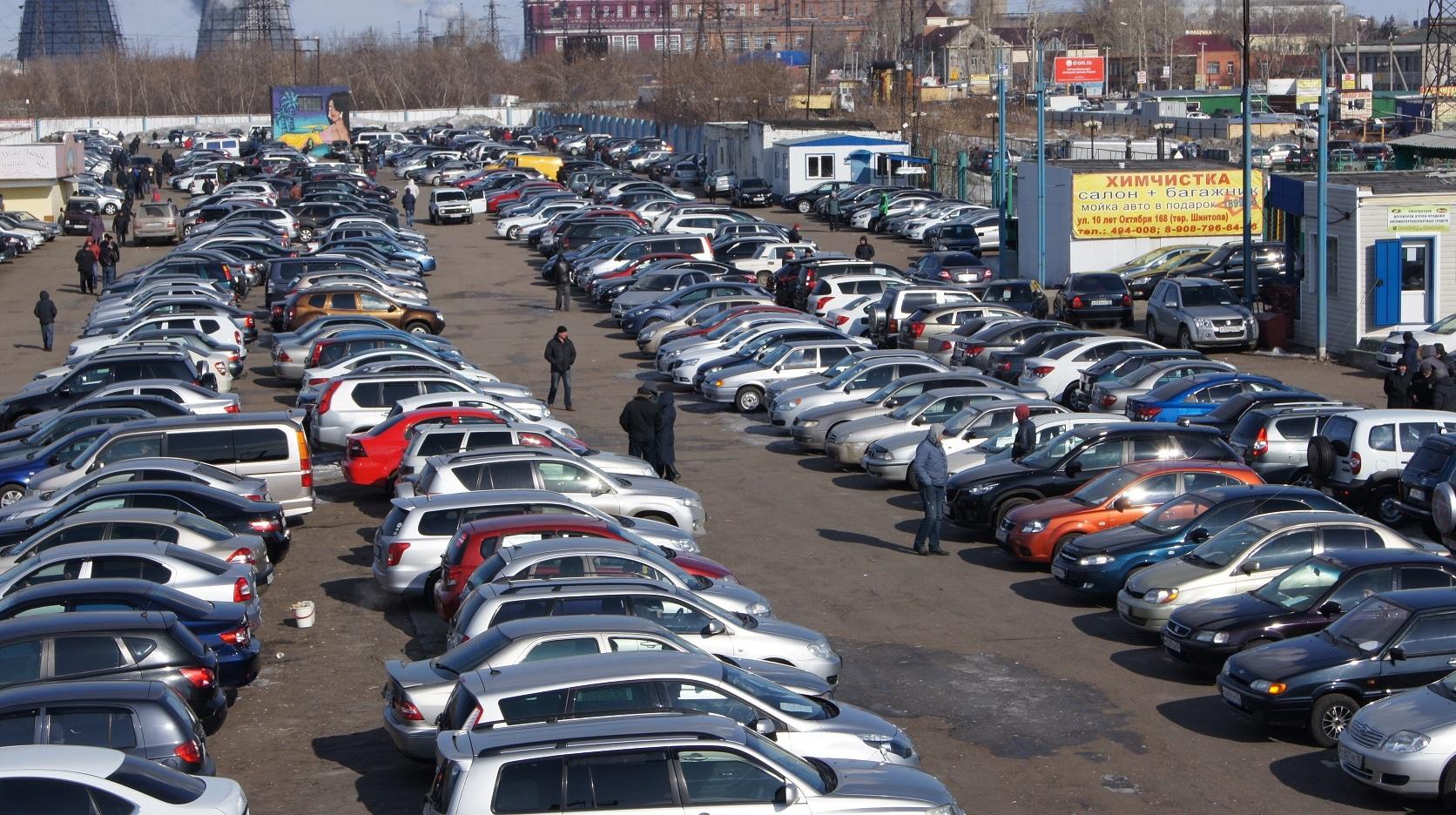 Популярные авто с пробегом в РФ