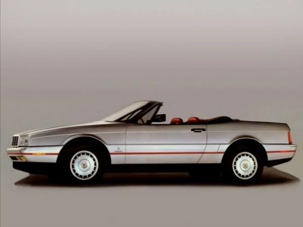 Cadillac Allante фото