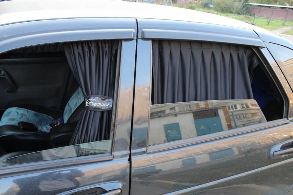 Шторки для авто  невидимость наказуема